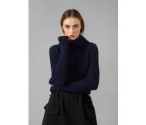 Fully-fashion-rollkragenpullover Aus Schurwolle Und Kaschmir
