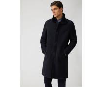 Mantel aus Wild-lammleder