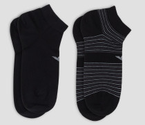 2er-set Socken aus Baumwollmischung