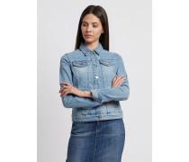 Jeansjacke in Vintage-optik