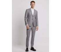 Einreihiger Anzug aus Wolle Super 150's