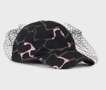 Baseball-cap mit Allover-print und Netzeinsatz
