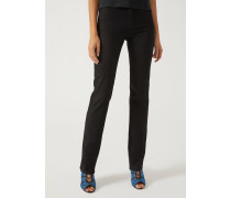 Straight Slim Jeans J75 Aus Stretch-denim