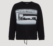 Sweatshirt Capsule Kollektion Emporio Armani Boarding