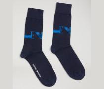 2 Paar Socken Aus Baumwollstretch