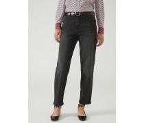 Jeans mit Entspannter Passform aus Denim Stone Washed