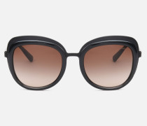Sonnenbrille mit Opakem Finish und Getönten Gläsern