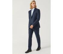 Anzug Modern Fit aus Schurwolle mit Einreihigem Jackett