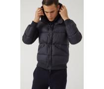 Jacke aus Ripstop-nylon mit Daunenfutter