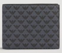 Bifold-portemonnaie Aus Leder