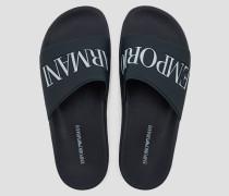 Flip-flops mit Logo-riemen und Logo