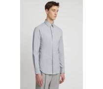 Fischgrat-hemd in Slim Fit