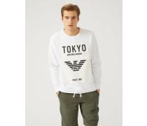 """Sweatshirt """"tokyo"""" aus Baumwollstretch"""