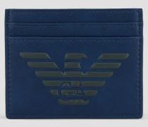 Glatter Kartenhalter mit Geprägtem Logo