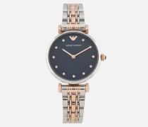 Uhr 11092 Mit Zweifarbigem Armband