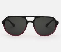 Flieger-sonnenbrille Aus Zweifarbigem Acetat