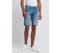 Shorts aus Komfort-denim in Klassischer Köperbindung 12 Oz