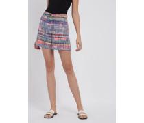 Shorts aus Mehrfarbigem Tweed