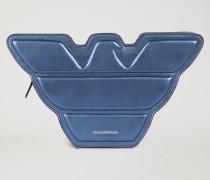 Tasche in Adler-form aus Leder