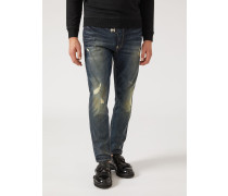 Regular Fit Jeans J01 Aus Baumwollstretch-denim