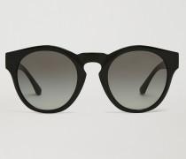 Sonnenbrille mit Kontrastdetail