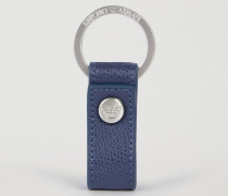 Schlüsselanhänger aus Geprägtem Leder
