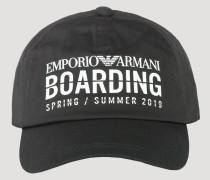 Basecap mit Schirm Capsule Kollektion Emporio Armani Boarding