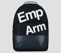 Nylon-rucksack mit Print