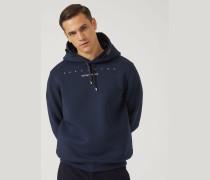 Sweatshirt Respect Me aus Leichtem Scuba-stoff