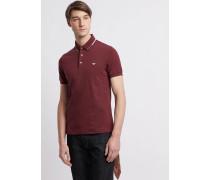 Poloshirt aus Baumwollpikee mit Stretch
