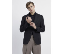 Blazer aus Techno-wolle mit Stretch