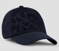 Baseball-cap mit Allover-logo