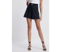 Shorts aus Doppelter Popeline