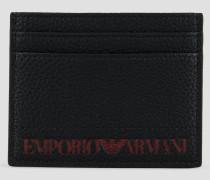 Kartenhalter mit Kontrastierendem Emporio Armani-logo