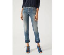 Straight Slim Jeans J06 Mit Stonewash-behandlung