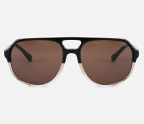 Flieger-sonnenbrille Mit Farbigen Gläsern