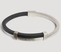 Armband Aus Gebürstetem Zweifarbigem Stahl