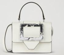 Handtasche Mit Verschluss Aus Plexiglas