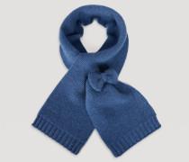 Schal aus Wolle mit Schleife