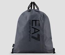 Rucksack Aus Techno-stoff Mit Logo