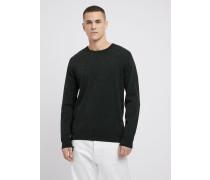 Pullover aus Reiner Baumwolle mit Geometrischem Muster
