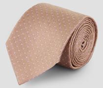 Krawatte aus Seide mit Punktemuster