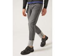 Slim Fit-jeans J00 Aus Denim Mit Webkante Und Geflochtenem Schlüsselanhänger