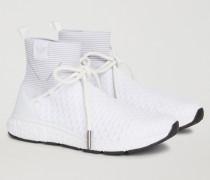 Schlüpf-sneakers mit Schnürsenkeln