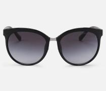 Cat-eye-sonnenbrille mit Getönten Gläsern