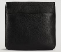 Crossbody Bag aus Gehämmertem Leder