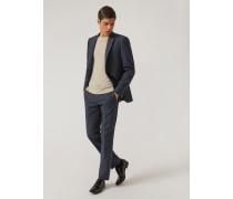 Anzug Mit Slim Fit Aus Baumwollstretch