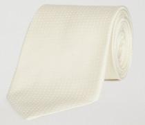 Krawatte Aus Seidensatin Mit Jacquard-muster