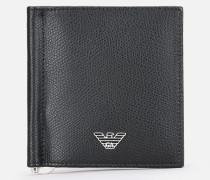 Bifold-portemonnaie Aus Geprägtem Leder