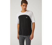 T-shirt Aus Jersey/pima-baumwolle